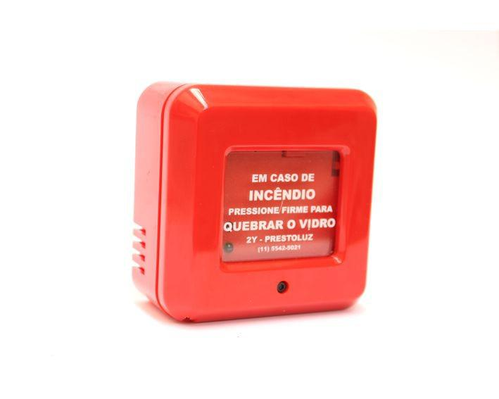 Acionador manual de alarme